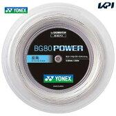 YONEX(ヨネックス)「BG80 POWER(BG80パワー)200mロール BG80P-2」バドミントンストリング(ガット)
