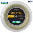 「新色登場」YONEX(ヨネックス)「ナノジー95(NANOGY 95)[200mロール] NBG95-2」バドミントンストリング(ガット)【smtb-k】【kb】【KPI】