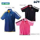 『即日出荷』YONEX(ヨネックス)≪Ladie's レディースシャツ(レギュラータイプ) 20231≫ゲームシャツ・パンツ〔テニスウェア〕「SS」「あす楽対応」[ネコポス可]