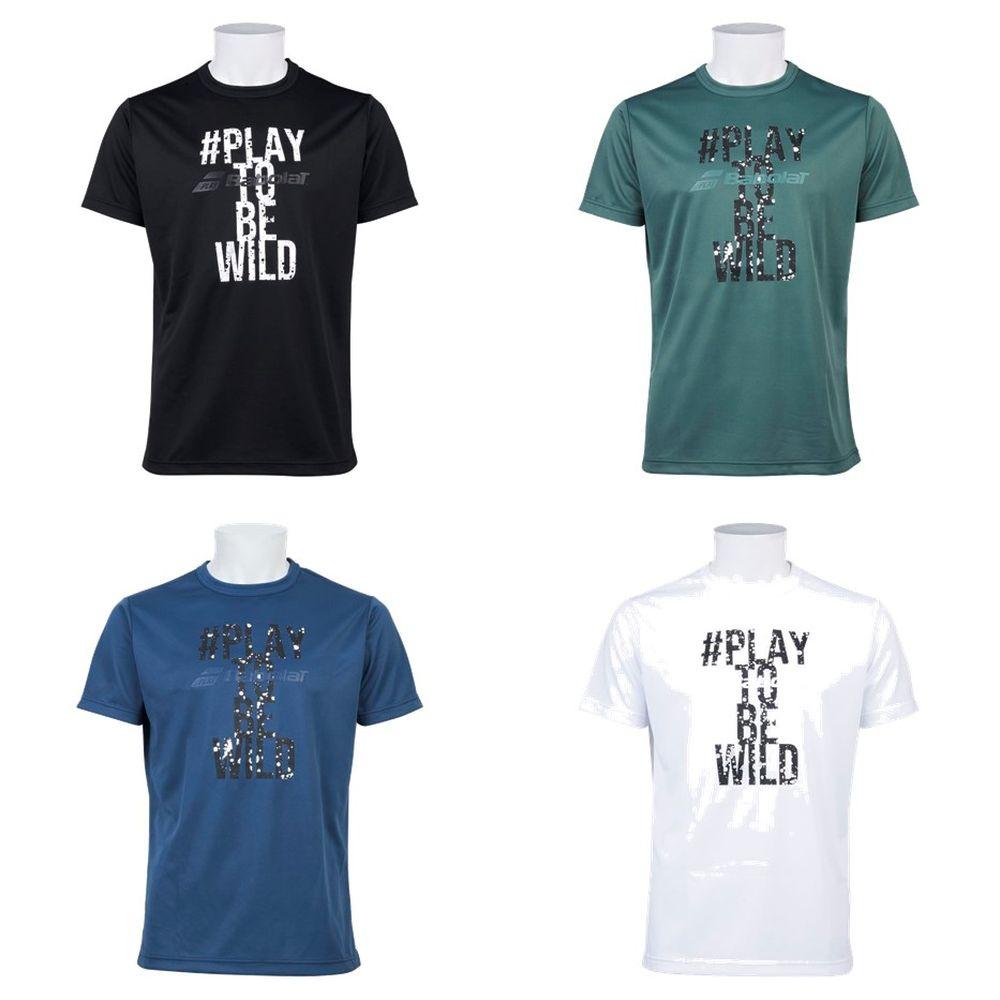 メンズウェア, Tシャツ  Babolat SHORT SLEEVE SHIRT BTUOJA32 2019FW