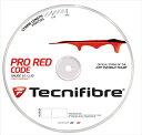 『即日出荷』 「新パッケージ」Tecnifibre(テクニファイバー)「PRO REDCODE(プロ レッドコード) 200mロール TFR502」硬式テニスストリング(ガット)【KPI】「あす楽対応」