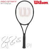 Wilson(ウイルソン)「PRO STAFF RF97 Autograph(プロスタッフ97RFオートグラフ) WRT731410」硬式テニスラケット(スマートテニスセンサー対応)【kpi24】