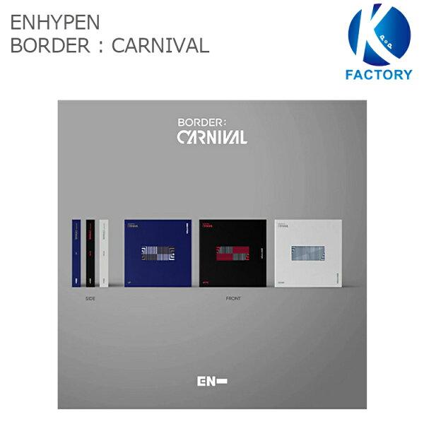 特典付きENHYPENミニ2集アルバム BORDER:CARNIVAL 3種セットエンハイフンアイランド/韓国音楽チャート反映