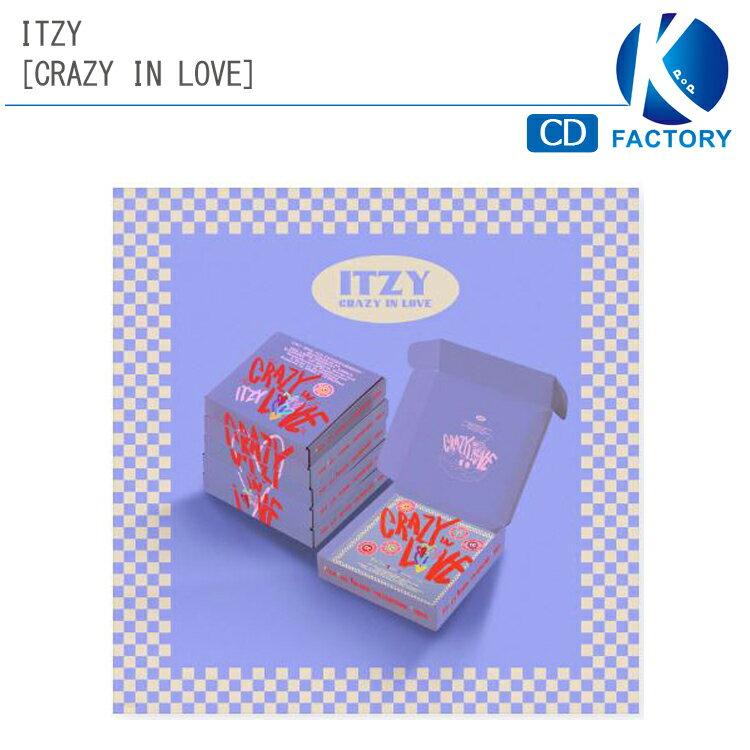 CD, 韓国(K-POP)・アジア  ITZY 1 6 CRAZY IN LOVE ALBUM 1