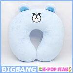 BIGBANGクマちゃんのふわふわクッション首枕