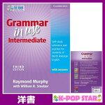 洋書(ORIGINAL)/GrammarinUseIntermediateStudent'sBookwithAnswersandCD-ROM:Self-studyReferenceandPracticeforStudentsofNorthAmericanEnglish(Book&CDRom)/RaymondMurphy