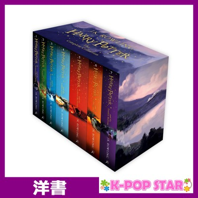 洋書, FICTION & LITERTURE (ORIGINAL) Harry Potter Box Set: The Complete Collection for ENGLAND Version.