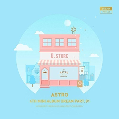 韓国(K-POP)・アジア, 韓国(K-POP) ASTRO 4th Mini Album DREAM PART.01DAY or NIGHT CD