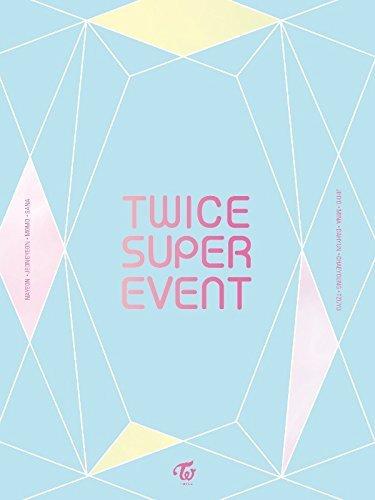 アジア・韓国, 韓国 TWICE - TWICE SUPER EVENT DVD (Limited Edition) DVD72p Photobook9 Photocard