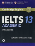 CambridgeIELTS13AcademicStudent'sBookwithAnswerswithAudio:AuthenticExaminationPapers(IELTSPracticeTests)(英語)