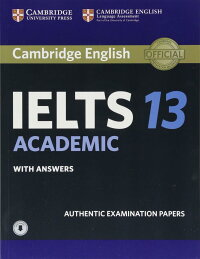 CambridgeIELTS13AcademicStudent'sBookwithAnswerswithAudio:AuthenticExaminationPapers(IELTSPracticeTests)(英語)
