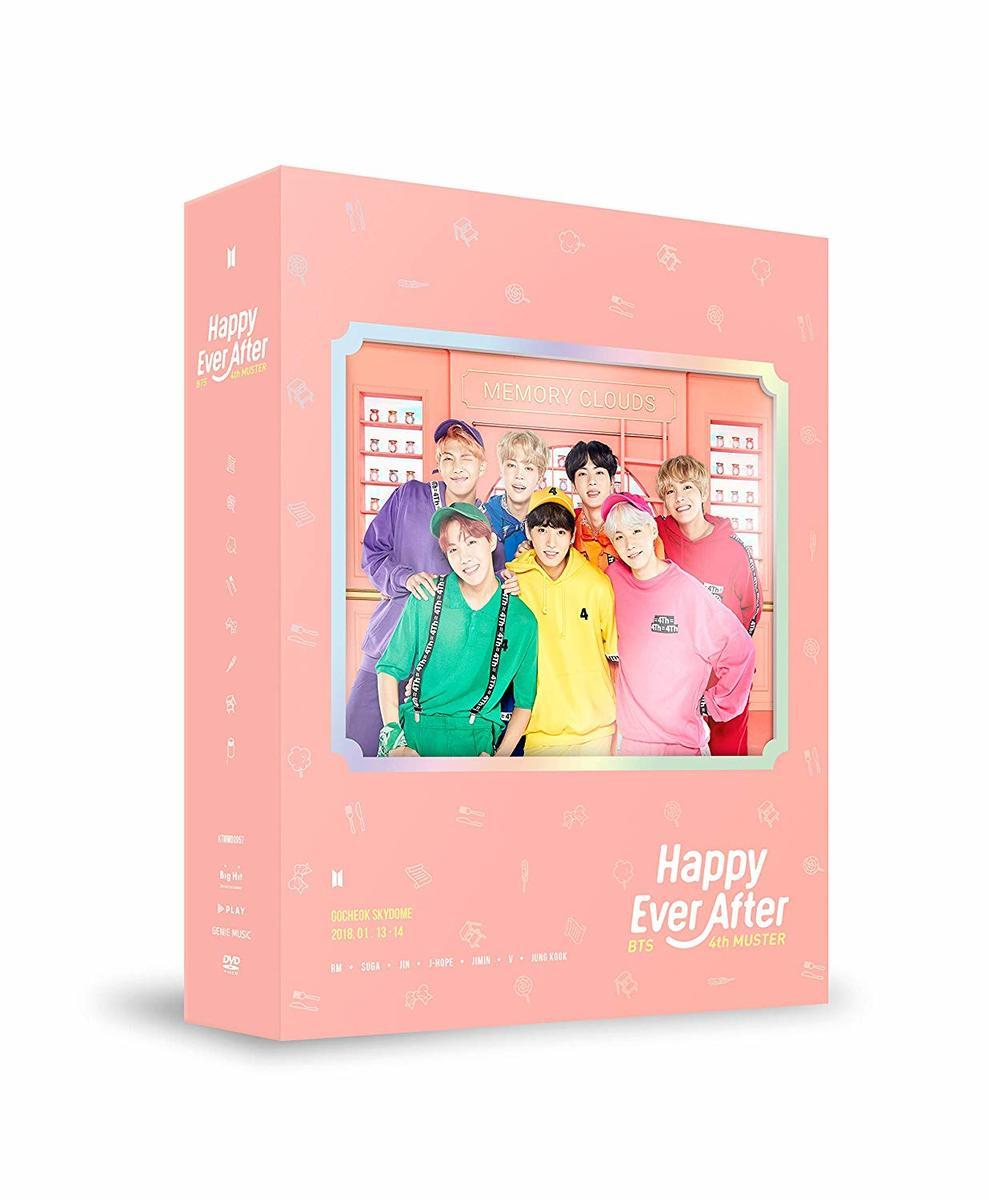 アジア・韓国, 韓国 BTS 4th MUSTER-Happy Ever After DVD()