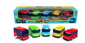 Tayo The Little Bus ちびっこバス タヨ ミニ 5ピース (タヨ + ロギ + ガニ + ラニ + シツ) セット