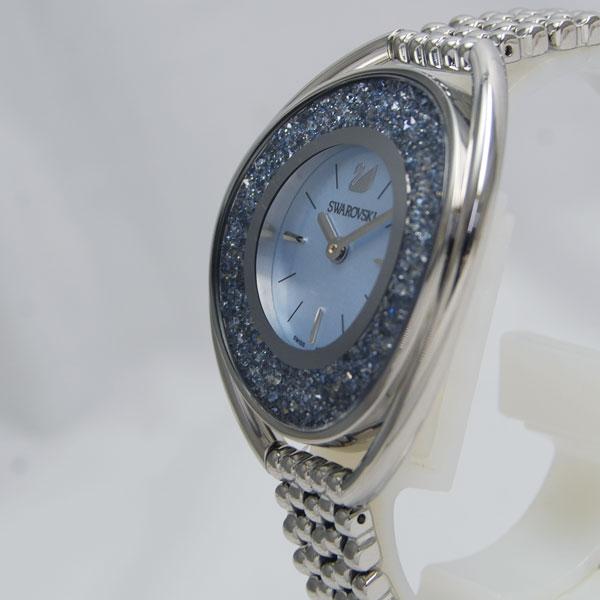 SWAROVSKI スワロフスキー Crystalline Oval Light blue ブレスレット クリスタルライン オーバル 5263904