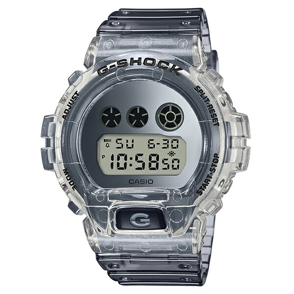 腕時計, メンズ腕時計 CASIO G-SHOCK G Clear Skeleton DW-6900SK-1
