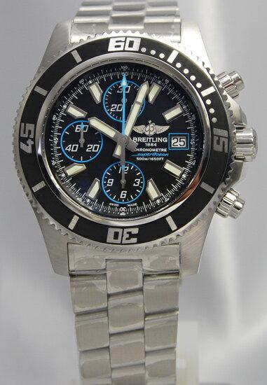 BREITLING Super Ocean chronograph blue A110B83PRS