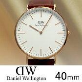 ダニエルウェリントンクラシック セント モース 40mmローズ/0106DW(DW00100006) 海外正規品