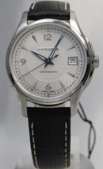 Hamilton jazzmaster 37 mm viewmatic silver H32455557