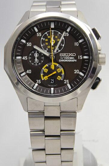 Seiko ignition 1 / 100 sec chronograph SBHP005