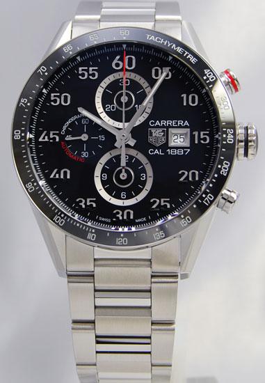 Tag Heuer Carrera 1887 chronograph CAR2A10. BA0799