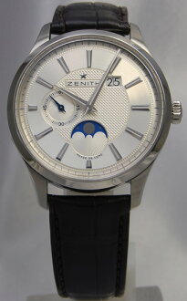 ZENITH Captain elite Grande date moon phase 03.2140.691/02.C498