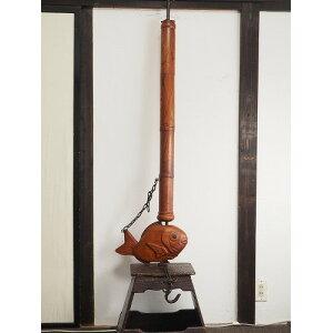 0291 Универсальный крючок, лещ, жаровня, уголь, отопление, свечи, старые инструменты для жизни, деревянные вещи, старинные народные инструменты, старая народная мебель для дома, [подержанные]
