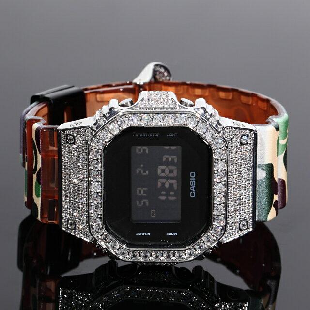 腕時計, メンズ腕時計  G DW5600 G-SHOCK CZ 18K GOLD