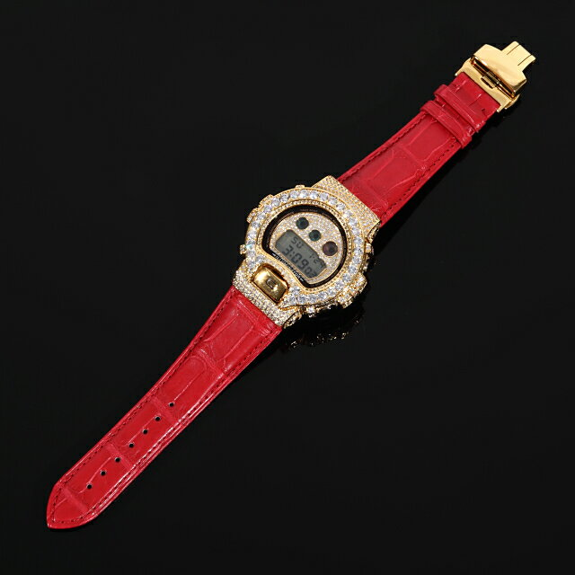 腕時計, メンズ腕時計  G-SHOCK DW6900mr RED CZ 18K CZ