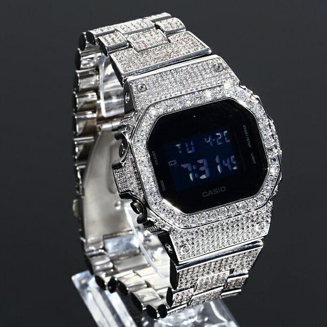 腕時計, メンズ腕時計  G-SHOCK DW5600 SOLID 22mm 18K CZ Kronic