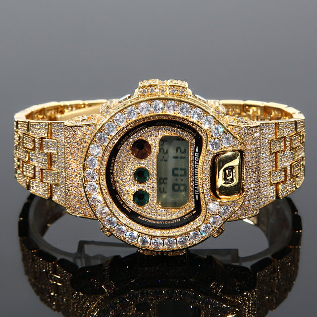 腕時計, メンズ腕時計 G-SHOCK G DW6900 CZ 18K Kronic