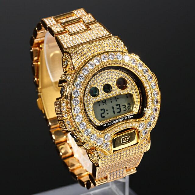 腕時計, メンズ腕時計 G-SHOCK G DW6900 CZ22mm 18K Kronic