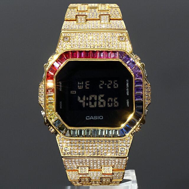 腕時計, メンズ腕時計  G-SHOCK DW5600 SOLID 18K CZ Kronic
