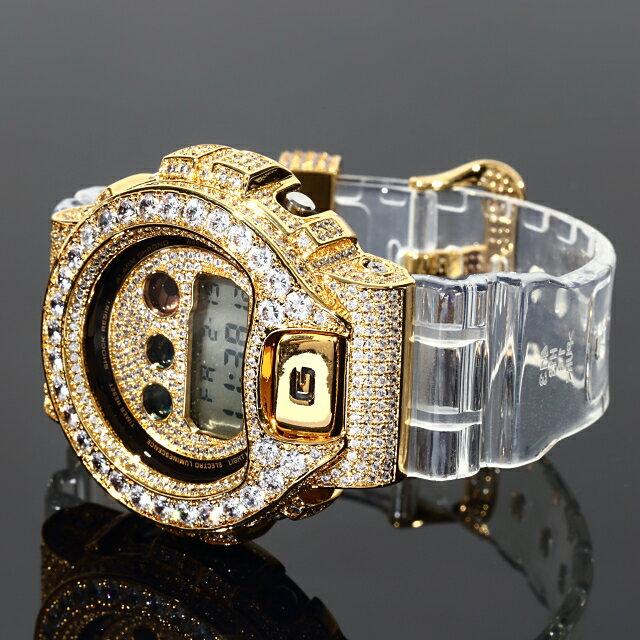 腕時計, メンズ腕時計 G-SHOCK DW6900 CZ 18K Kronic