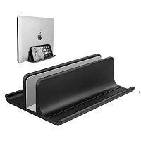 調節可能 ノートパソコン スタンド 縦置き ノートパソコン用ベースでもあり、スペースを節約できる一つ三役のノートパソコン縦置きス