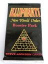 1994 Illuminati New World Order INWO Limited Edition イルミナティカード ブースターパック 1パック(...