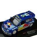 ixo/イクソ シュコダ ファビア WRC 06 ラリー・スウェーデン ♯12 E.エクストロム/S.バー 1/43スケール RAM277