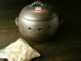 萬古焼みすずの家庭用石焼き芋鍋丸形小[日本製石焼き芋土鍋調理器]