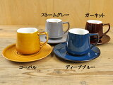 フィーヌコーヒーカップ&ソーサー[小さめ180ccおしゃれカフェ重ね置きスタッキングKOYOJAPAN陶器(磁器製)日本製]