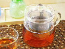 耐熱ガラスお茶ポット800[ティーポット急須軽量おうちカフェ食器]