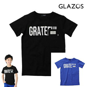 20%OFF SALE GLAZOS(グラソス)天竺・ポケットロゴプリント 半袖Tシャツ 150cm160cm170cm 男の子 ジュニア ナルミヤ