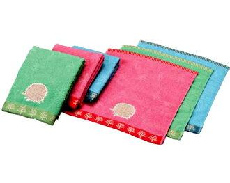 Hedgehog-face towel
