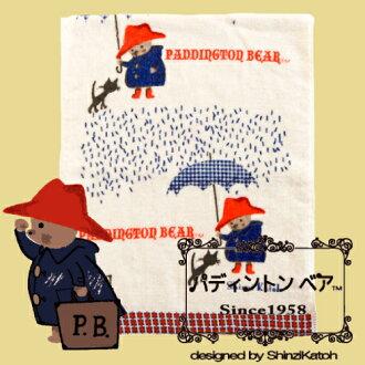 Paddington Bear pigmented factual ringtone report view PADDINGTON BEAR Supima cotton Shinzi Katoh syndicate 34 × 85 cm P14Nov15
