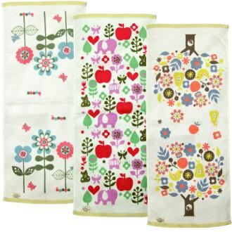 Flowery Flowery face towel wear crosses view Shinzi Katoh syndicate 34 × 80 cm fs3gm10P11Apr15 P 25 Apr 15
