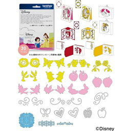 ブラザー工業 ディズニーカットデータ CADSNP06 白雪姫とベル