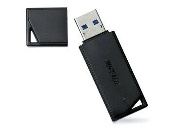 バッファロー USBメモリ RUF3-K32GB-BK ブラック 容量:32GB