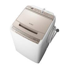 (長期無料保証/配送設置無料)日立全自動洗濯機BW-V90FNシャンパン洗濯容量:9.0kg