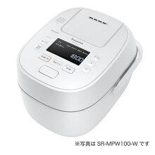 (長期無料保証)パナソニック圧力IH炊飯器SR-MPW180-Wホワイト炊飯容量:1升