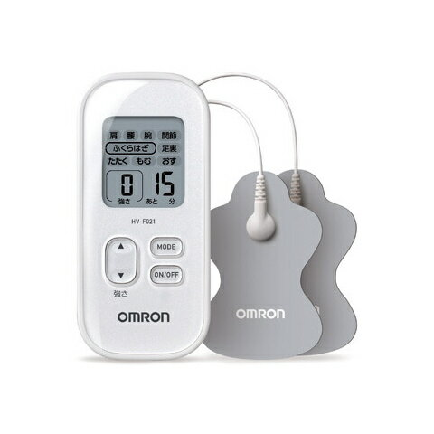 オムロン 低周波治療器 HV-F021-W ホワイト