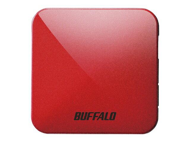 バッファロー Wi-Fiルーター WMR-433W2-PR パッションレッド