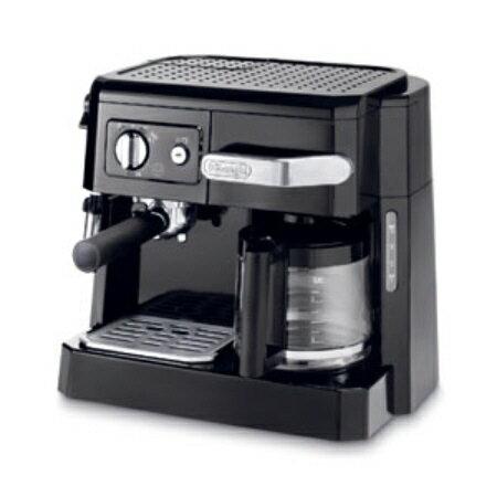 デロンギ コンビコーヒーメーカー BCO410J-B ブラック